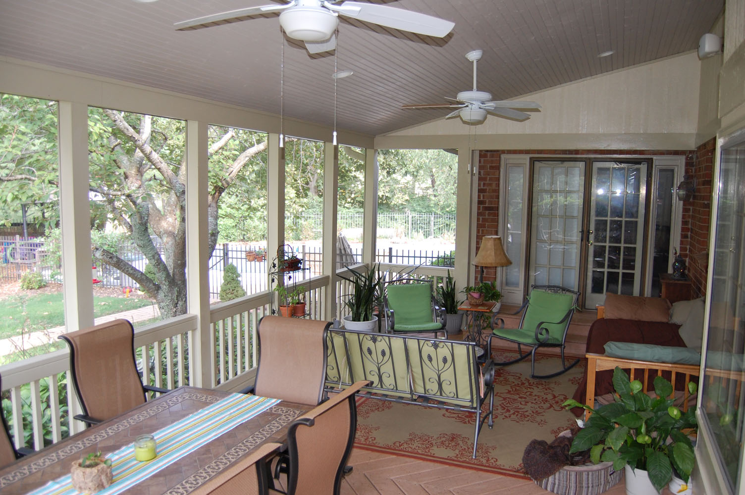 Interior Screened Porch : Screen porch franklin interior costello construction llc